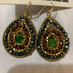 Anthropologie earrings NWT